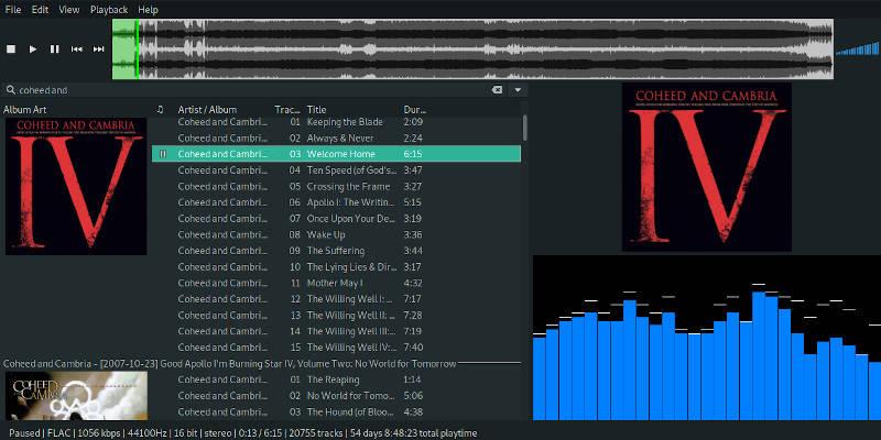 Amplíe su biblioteca musical en Linux con DeaDBeeF