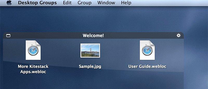 Organice el escritorio de su Mac con los grupos de escritorio - Reseña y sorteo
