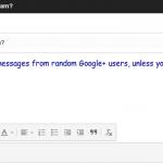¿No quiere que cualquier usuario de Google Plus le envíe correos electrónicos? Aquí le explicamos cómo detenerlos
