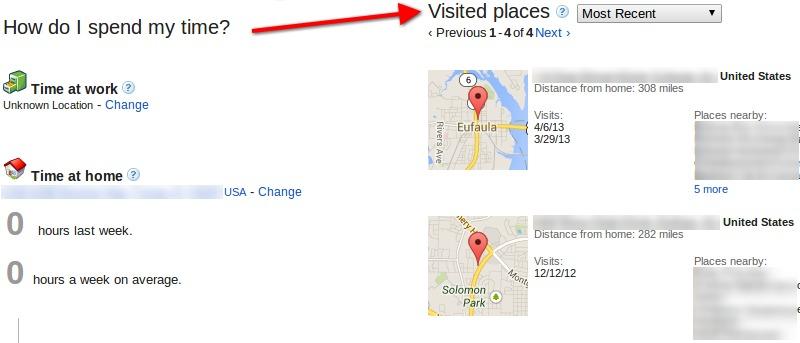 Cómo desactivar el historial de ubicaciones de Google Maps