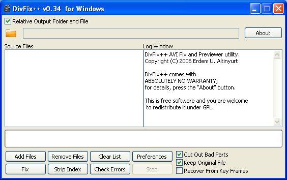 Cómo reparar archivos AVI rotos con DivFix ++