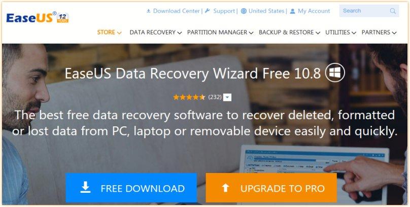 Restaurar rápidamente los archivos borrados con el software de recuperación de datos de EaseUS