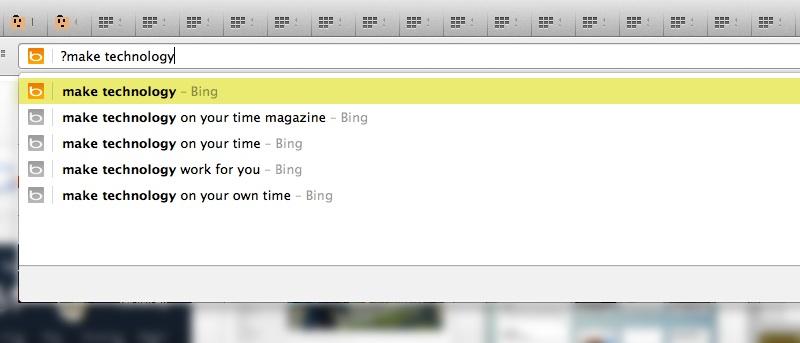 Olvídese de todo lo demás: Excluya el historial de navegación cuando busque a través del Omnibox de Chrome