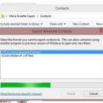 Cómo exportar los contactos del iPhone a un archivo CSV en Windows 8