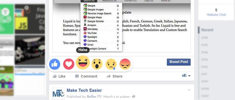 """¿Qué opina de los cambios en el botón """"Me gusta"""" de Facebook?"""