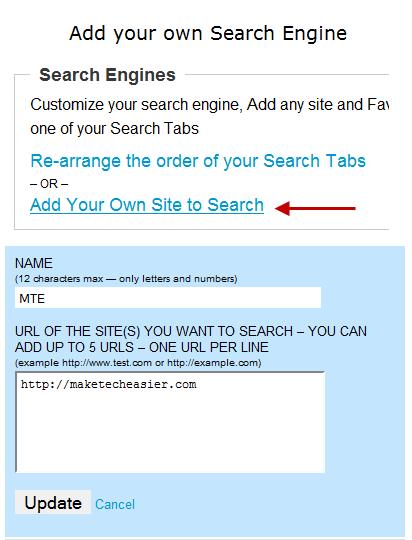 Favitt: agregue funciones útiles a la página de inicio de su navegador $ 0027