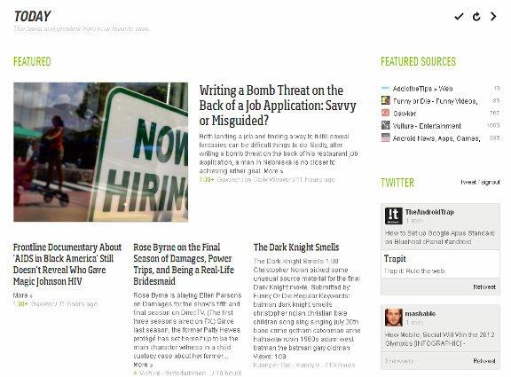Feedly: Vea sus sitios favoritos en un elegante formato de revista (FireFox)
