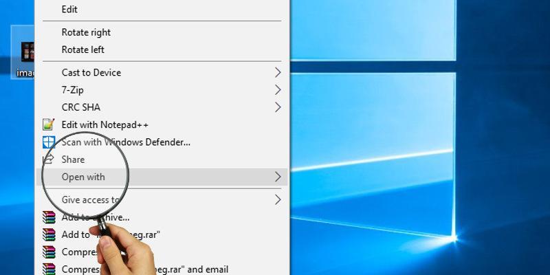 """Cómo reparar """"Abrir con"""" que no funciona en Windows 10"""