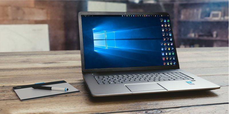 Cómo arreglar una pantalla invertida en Windows 10