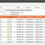 Cómo extraer pistas de audio individuales de los CD con Flacon