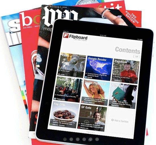 Flipboard: una aplicación de revista social imprescindible para iPad