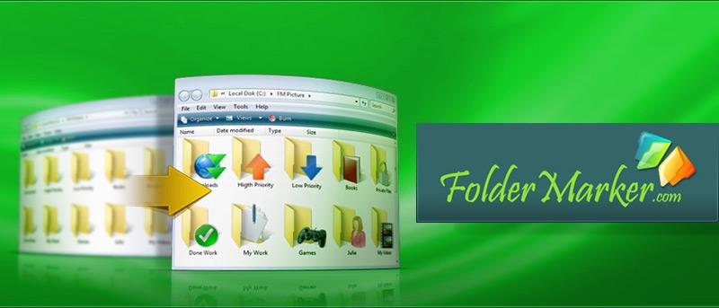 Cambie los iconos de sus carpetas de Windows con FolderMarker