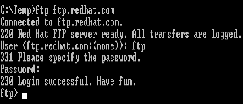 Cómo utilizar el FTP desde la línea de comandos de Linux