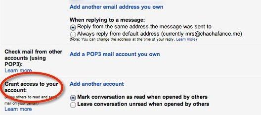 Cómo configurar la delegación de correo electrónico en Gmail para Google Apps