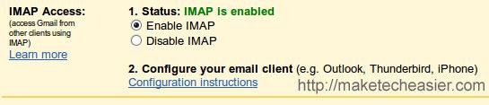 Cómo hacer una copia de seguridad de Gmail en Ubuntu Intrepid