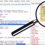 """Uso de la herramienta """"Inspeccionar"""" de Google Chrome para el diagnóstico de sitios web"""