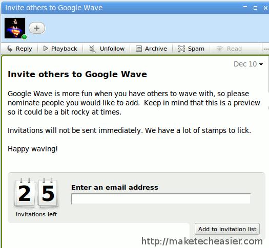 ¿Quiere probar Google Wave? Tenemos 25 invitaciones