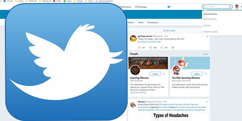 Cómo eliminar las búsquedas guardadas en Twitter [Consejos rápidos]