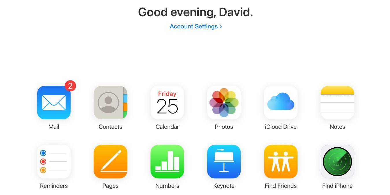Cómo iniciar sesión en iCloud desde diferentes dispositivos