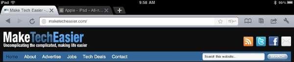 Navegador web iChromy para iPad: para aquellos que prefieren Google Chrome