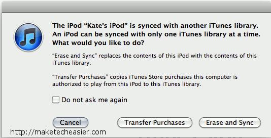 Cómo restaurar su biblioteca de iTunes con su iPod, unidades flash y CDs