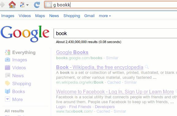 InstantFox hace que las búsquedas desde la barra de direcciones sean un juego de niños [Firefox]