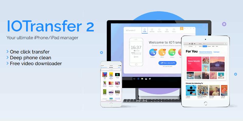 IOTransfer: Gestione fácilmente su dispositivo iOS en Windows