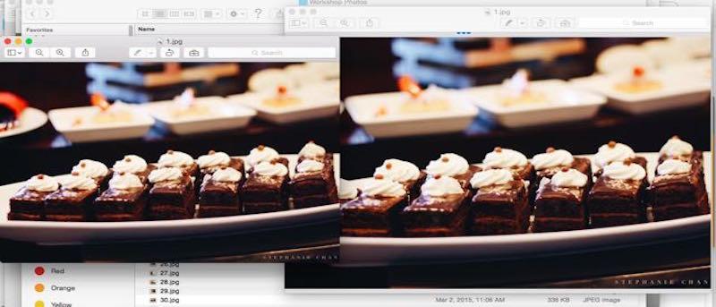 Cómo cambiar rápidamente el tamaño de las fotos en un Mac