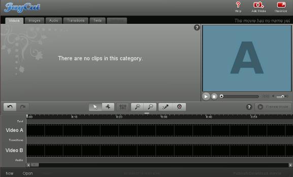 ¿No tiene editor de vídeo? No hay problema - Pruebe JayCut Online