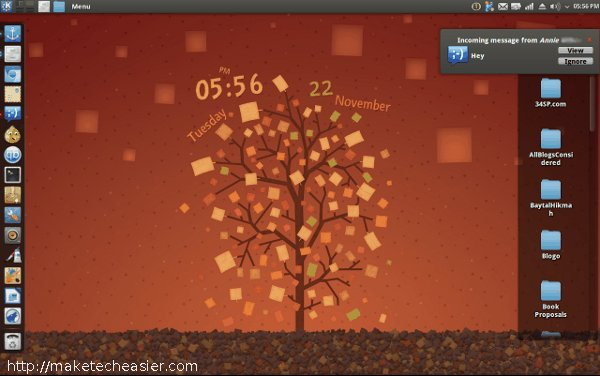 Cómo darle a cualquier escritorio KDE un cambio de imagen de Ubuntu