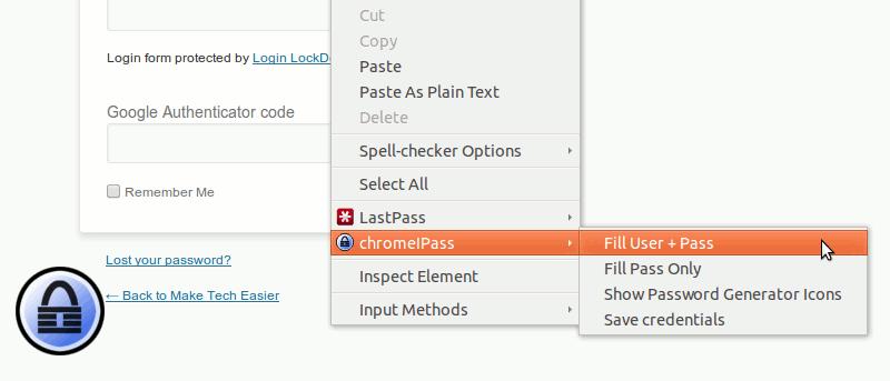 Cómo integrar KeePass con Chrome y Firefox en Ubuntu
