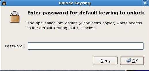 Desbloqueo automático del gestor de llaveros en Ubuntu Intrepid