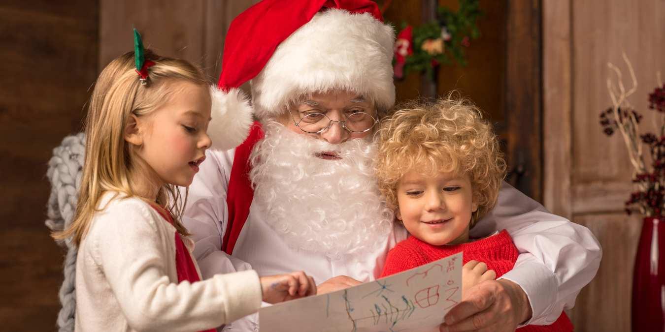 Cómo pueden los niños chatear por vídeo con Papá Noel