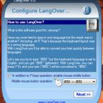 LangOver le ayuda a cambiar su idioma de escritura fácilmente