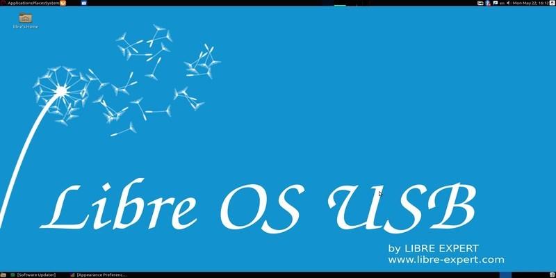 Libre OS USB: Un sistema para llevar que se ejecuta desde una unidad flash