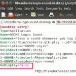Cómo deshabilitar el sonido de inicio de sesión en Ubuntu Oneiric [Consejos rápidos]
