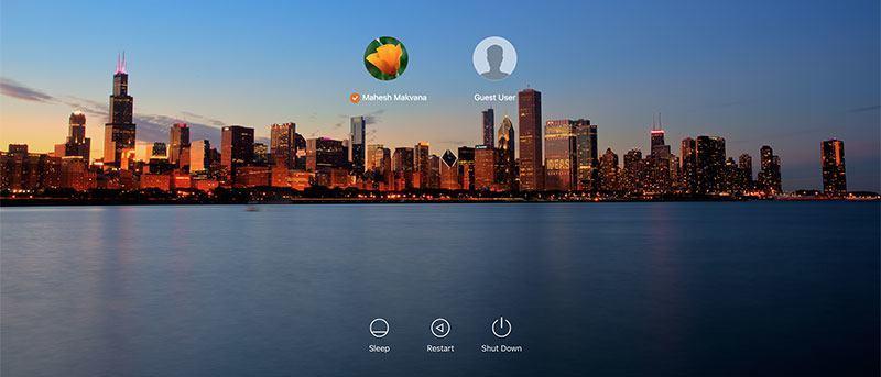 Cómo cambiar el fondo de pantalla de inicio de sesión en OS X El Capitan