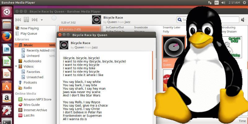 Cómo ver las letras de las canciones en el escritorio de Linux