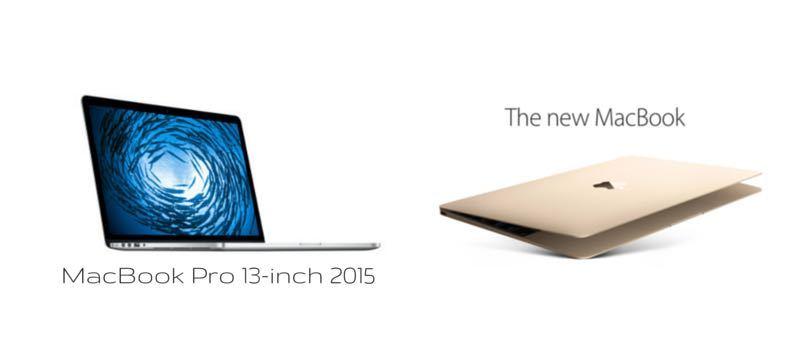 Macbook de 12 pulgadas frente a MacBook Pro de 13 pulgadas (2015): ¿Cuál debería elegir?