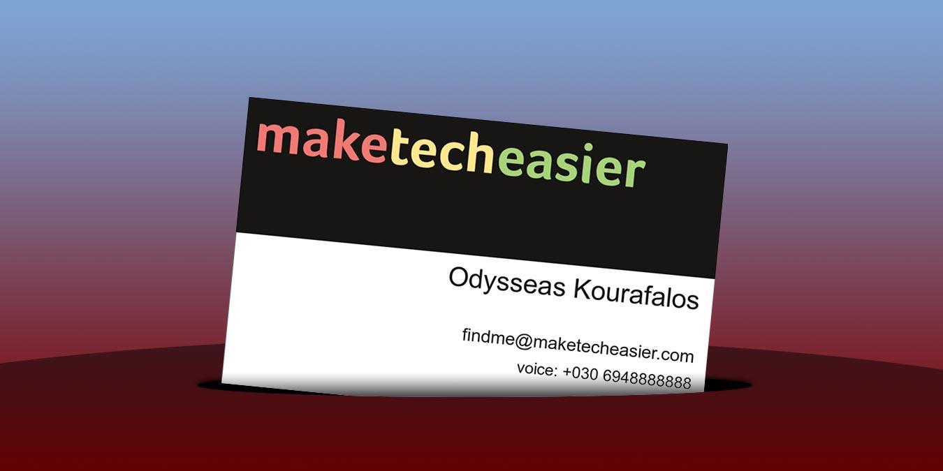 Cómo hacer su propia tarjeta de visita personalizada con Scribus