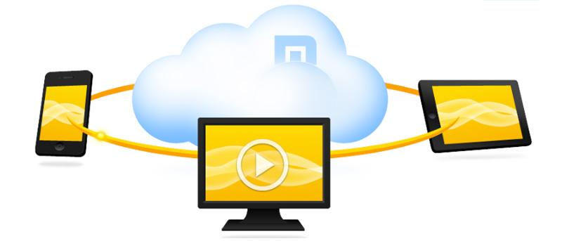 Empuje fácilmente el contenido a otro dispositivo con el navegador en la nube de Maxthon