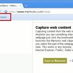 Memonic: una herramienta de recorte web para capturar y compartir contenido web