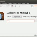 MiniTube: Vea vídeos de YouTube en su escritorio [Linux]