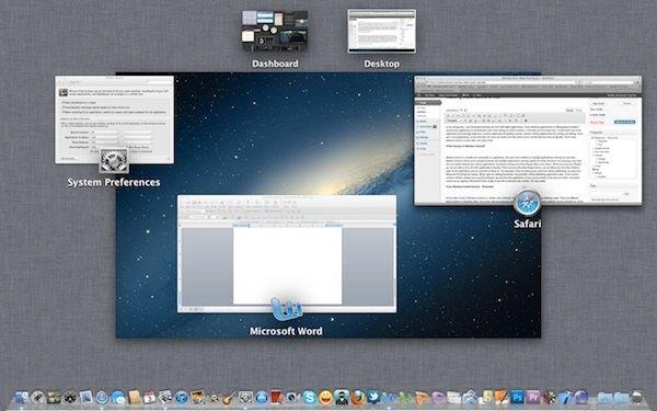 Consejos y trucos útiles para utilizar el control de la misión en Mac