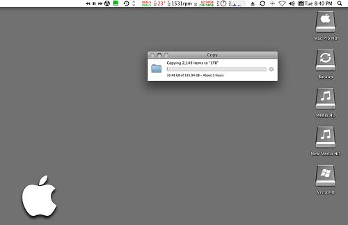 Mover los datos del viejo Mac al nuevo