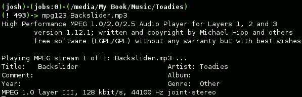 Cómo reproducir MP3 desde la línea de comandos de Linux
