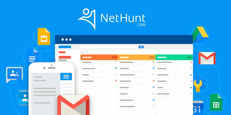 NetHunt CRM: Convierta su cuenta de Gmail en un software CRM