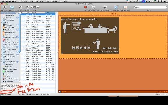 Administre su feed RSS en Mac con NetNewsWire