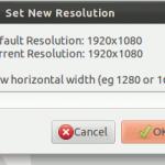 Cómo aumentar la resolución de su pantalla más allá de su configuración por defecto [Linux]