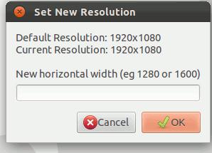 Cómo aumentar la resolución de su pantalla más allá de su configuración predeterminada [Linux].